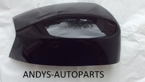 FORD SMAX  05 - 10 WING MIRROR COVER LH OR RH IN PANTHER BLACK